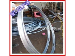 现货供应 管道铁护口 钢管管口铁护口 选用优质镀锌板折合而成