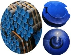 钢管塑料管帽厂家批发价格219.1钢管护口帽实拍图片