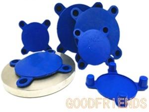 四爪式法兰保护盖水泵法兰孔塑料堵头防护堵板适用国标美标
