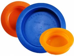 PE燃气管塑料管堵_PE管材防尘密封塑料管堵实体生产厂家推荐