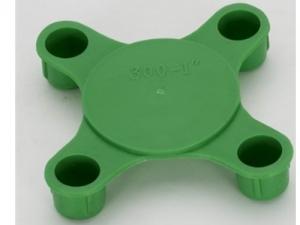 法兰孔堵头 法兰孔塑胶内塞 型号DN15-600通用性佳