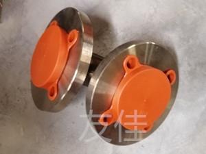四氟管道法兰保护盖_衬塑钢管塑料法兰盖_加高加厚专品专用